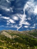 Mountains in Spain Stock Photography