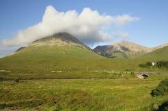 Mountains of Squrr Mhairi & Beinn Dearg Mhor Royalty Free Stock Image