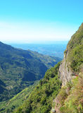 Mountains in Sri Lanka. Sri Lanka. A beautiful mountain landscape in the light of the morning sun on a summer day Royalty Free Stock Photo