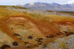 Mountains steppe desert color Stock Photos