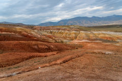 Mountains steppe desert color Royalty Free Stock Image