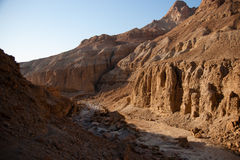 Mountains in stone desert nead Dead Sea Stock Image