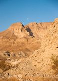 Mountains in stone desert nead Dead Sea Stock Photography