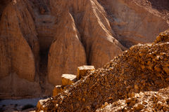 Mountains in stone desert nead Dead Sea Stock Photo