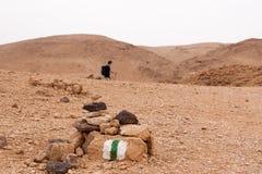 Mountains in stone desert nead Dead Sea Stock Image