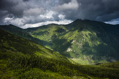 Mountains before storm Royalty Free Stock Image