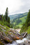 Mountains stream Stock Photo