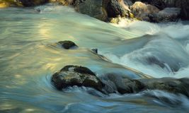 Mountains stream Stock Photography