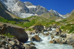 Mountains stream Royalty Free Stock Images