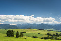 Mountains in summer Stock Photography
