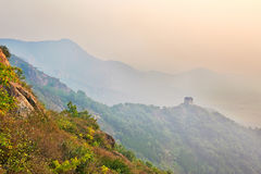 The mountains sunrise Royalty Free Stock Images