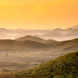 The mountains. Sunrise Royalty Free Stock Photo