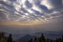 Mountains sunrise Royalty Free Stock Photography