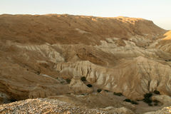 Mountains surrounding the Dead Sea Stock Photography