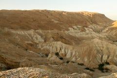 Mountains surrounding the Dead Sea Stock Photography