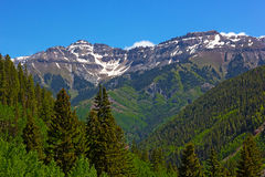Mountains surrounding Telluride, Colorado. Stock Photography