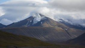 Mountains at Svalbard, Spitzbergen. Mountains landscape at Svalbard, Spitzbergen Stock Image