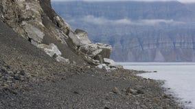 Mountains at Svalbard, Spitzbergen. Mountains landscape at Svalbard, Spitzbergen Stock Photography