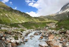 Mountains swiss Alps Stock Photo