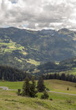 Mountains  in the swiss Alps Royalty Free Stock Photo