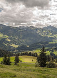 Mountains  in the swiss Alps Stock Photography