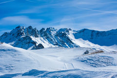 Mountains in Switzerland Stock Image