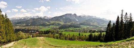 Mountains. Tatry in southern Poland Stock Image