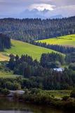 Mountains Tatry at the Zakopane. Beautiful mountain landscape at the Tatry. Zakopane, Poland royalty free stock photos