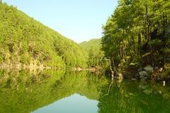 The mountains Taurus. Turkey, the mountains Taurus, Black deer lake Royalty Free Stock Photo