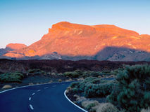 Mountains in Teide National Park, Tenerife Royalty Free Stock Photo
