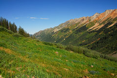Mountains in Telluride, Colorado Royalty Free Stock Photo