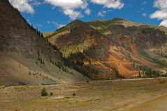 Mountains in Telluride, Colorado Stock Photo