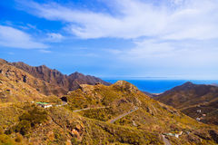 Mountains in Tenerife island - Canary Stock Photo