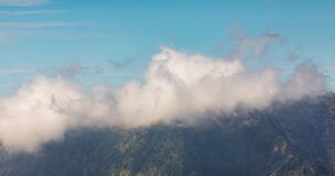Mountains of the Tengger massif, east of Java, in Indonesia