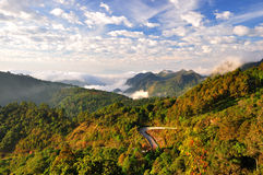 The mountains of Thailand Royalty Free Stock Images