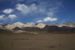 Mountains in Tibet Royalty Free Stock Images