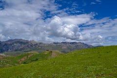 Mountains in Tibetan Plateau Stock Image