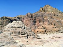 Timna Park of Israel stock photos
