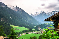 Mountains of Tirol, Austria, at summer Royalty Free Stock Photo