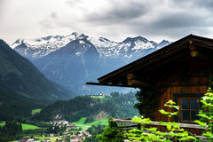 Mountains of Tirol, Austria, at summer Royalty Free Stock Photography