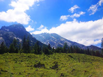 Mountains in Tirol Stock Photography