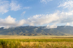 Mountains to the Jungar Gates Stock Photos