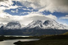 Mountains of Torres del Paine Royalty Free Stock Image