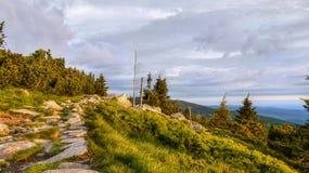 Mountains Trail Stock Photos