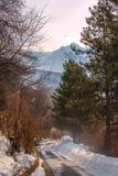 In the mountains of Trans-Ili Alatau. Royalty Free Stock Photo