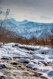 In the mountains of Trans-Ili Alatau. Royalty Free Stock Photography