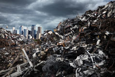 Mountains of Trash Stock Photography