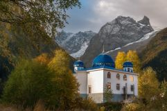 Mountains, travel, nature, beautifull place, mosques, churches royalty free stock images