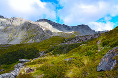 Mountains in the Travers Sabine Circuit Royalty Free Stock Images