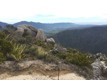 Mountain top in New Zealand Royalty Free Stock Photos